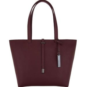 """Vince Camuto 100% Leather """"Leila"""" Tote Bag"""
